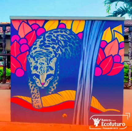 Banco Ecofuturo y CIWY generan conciencia ambiental a través del arte mural