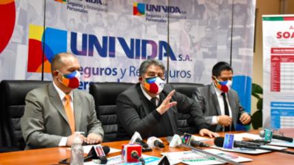 UNIVida recaudó más de Bs 6,6 millones por venta de pólizas del SOAT 2021