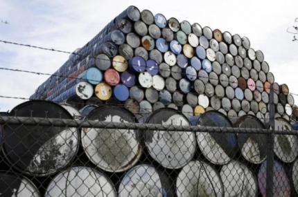 Precios del petróleo se derrumban por temores sobre la demanda