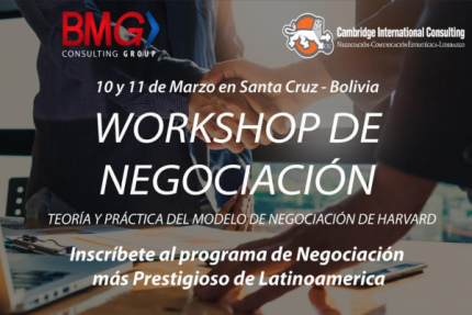 Workshop de negociación en Santa Cruz
