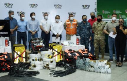 Lo más leído: CAINCO, CAO y FEXPOCRUZ entregan equipamiento para bomberos forestales