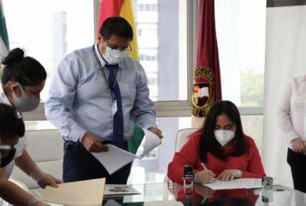 Ministerio y UNIFRANZ se unen para reactivar el empleo