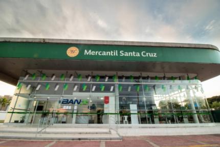 Lo más leído: El Banco Mercantil Santa Cruz registró más de 30 millones de transacciones
