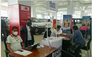 Banco Unión presenta el crédito Uniauto Ecológico en Santa Cruz y Oruro durante  la Feria Crediexpress de Toyosa