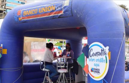 Banco Unión abre cuatro días de Feria Presencial en la Expo Automotriz para apoyar la reactivación de la economía