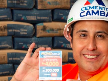 Cemento Camba apoya a sus clientes con más de 200 mil bolivianos en vales de consumo