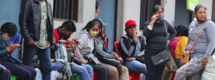 La tasa de desempleo urbano subió del 4,5% al 8,7%, de acuerdo con el INE