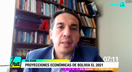 Economía de Bolivia crecerá por encima del promedio de la región en 2021